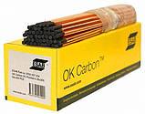 Электроды графитовые OK Carbon D 6,35 х 305 мм  , фото 2
