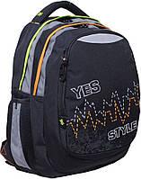 Школьный рюкзак 1 вересня Т-22 pulse подростковый (552620)