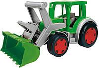 Игрушечный трактор Wader Gigant Farmer серо-зеленый (66015)