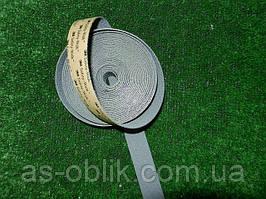 Антиковзка стрічка 25 мм еластична сіра