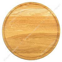 Доска разделочная буковая круглая d39см