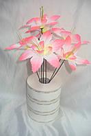 Колокольчик лилия (20 шт в уп) искусственные цветы опт одесса, фото 1