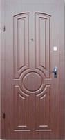 Двери входные Тектон с МДФ накладками эконом класса