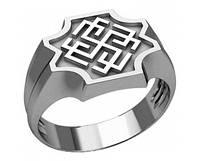 Кольцо серебряное Оберег Родимич 302 68