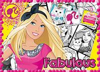 """Пазлы детские """"Mattel. Barbie.Каникулы Барби"""" 34241 Trefl, 4 в 1"""