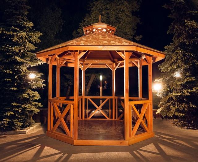 Готовые беседки. Amelie. - Wood Luxury в Киеве
