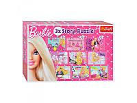 Пазлы микс 3 в 1 Mattel. Barbie Trefl  90309
