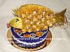 Золотая рыбка из ferrero rocher