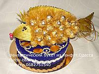 Золотая рыбка из ferrero rocher, фото 1