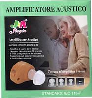 Слуховой аппарат с усилителем звука Amplificatore Acustico IEC 118-7, фото 1