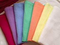 Вафельные полотенца цветное 45*30 (цвет по желанию), фото 1