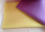 Вафельные полотенца цветное 45*30 (цвет по желанию), фото 3