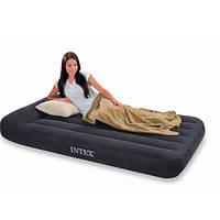 Велюровый надувной матрац INTEX 66767  99-191-30см