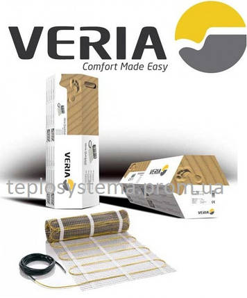 Теплый пол - Двухжильный мат нагревательный Veria Quickmat 150 - 5,0 м2 (750 Вт), DEVI Дания, фото 2