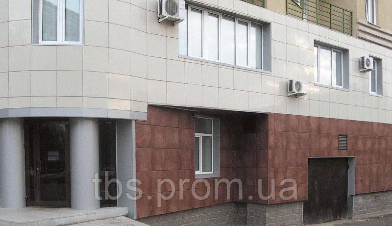 Композитный вентилируемый фасад (монтаж)