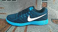 Мужские беговые кроссовки Lunartempo 2 синие с черным