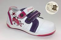 Кожаные кроссовки для девочек ТМ B&G 22,24,25р.
