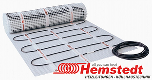 Нагревательный мат Hemstedt DH 150 Вт/м2 под плитку, двужильный