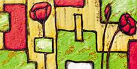Плитка Атем Куба настенная фриз Atem Cuba Kvadromak 295x146