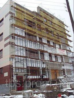 Плитка для вентилируемого фасада (монтаж)