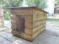 Будка для собак из дерева