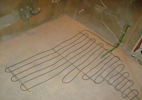 Тонкий нагревательный кабель Hemstedt DR 12,5 Вт/м под плитку, фото 2