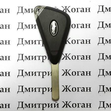 Автоключ для SUBARU (Субару) 2 - кнопки, лезвие DAT17, 433 Mhz, фото 2