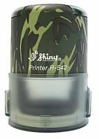 Оснастка Shiny автоматическая для круглой печати D42мм Хаки R-542/х