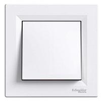 Переключатель перекрестный Schneider Electric Asfora 1 кл., 10 А, белый, фото 1