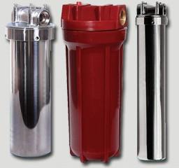 Магистральные фильтры механической очистки для горячей воды
