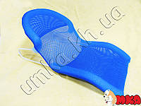 Подставка-горка для купания новорожденных синяя