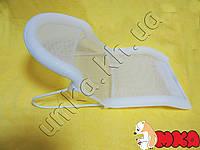 Подставка-горка для купания новорожденных белая