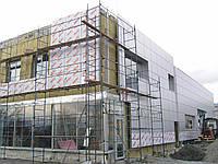 Вентилируемый фасад из фиброцементных плит (монтаж)