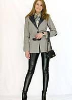 Стильное кашемировое женское пальто