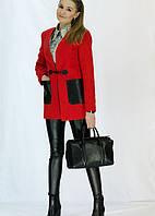 Красивое кашемировое пальто с карманами