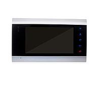 Комплект цветного домофона Myers M-74SD Silver+вызывная панель  Myers D-200