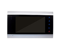 Комплект цветного домофона Myers M-74SD Silver HD+вызывная панель  Myers D-200HD