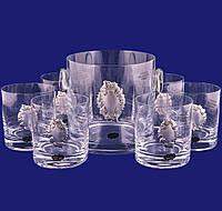 Набор бокалов для виски с ведром для льда, фото 1