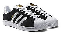 Кроссовки, Adidas Superstar Black/White 2