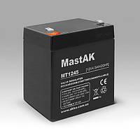 Mastak 12V 4.5A АКБ Герметичный свинцово-кислотный аккумулятор SLA