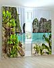 Фотошторы пейзаж в тропиках