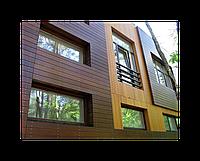 Фасад вентилируемый под керамогранит (монтаж)