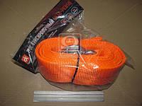 Трос буксировочный 8т. 75мм. 5м. С-крюк, Polyester, оранжевый, . DK46-PE850