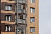 Подсистемы вентилируемого фасада из керамогранита (монтаж)