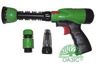 Пистолет поливочный пластмассовый 101LG, Оазис