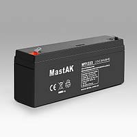 Mastak 12V 2,3A АКБ Герметичный свинцово-кислотный аккумулятор SLA