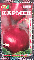 "Семена красного лука ""Кармен"" ТМ VIA-плюс, Польша (упаковка 10 пачек по 5 г)"