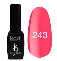 Гель-лак Коdi №243 (кораллово-красный, яркий) 8 мл