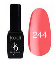 Гель-лак Коdi №244 (кораллово-красный, светлый) 8 мл