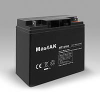 Mastak 12V 18A АКБ Герметичный свинцово-кислотный аккумулятор SLA